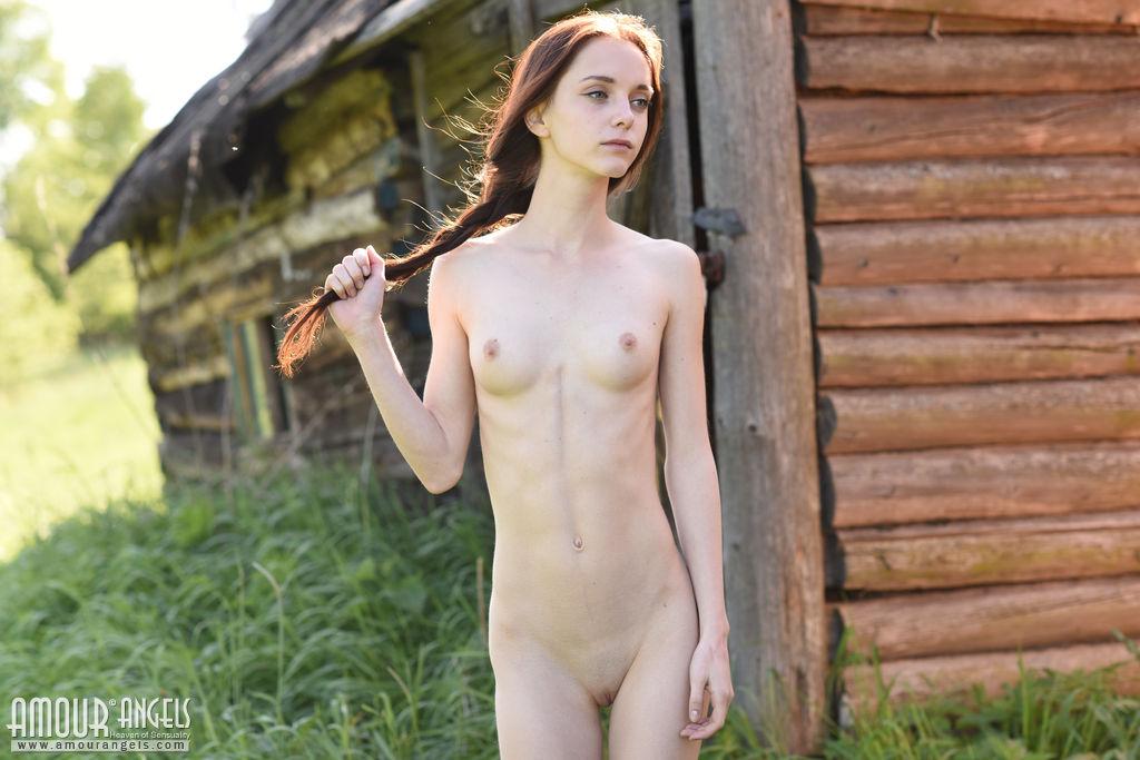 Naked women covered in whip cream